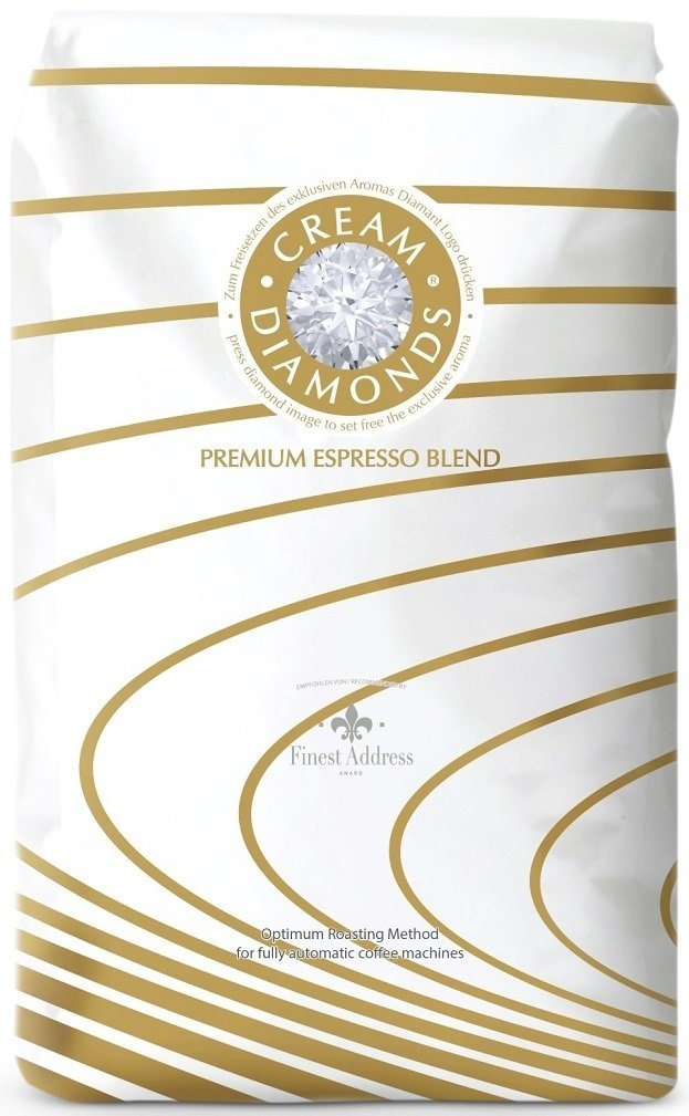 Cream Diamonds Café-Espresso by J. Hornig im Vergleich