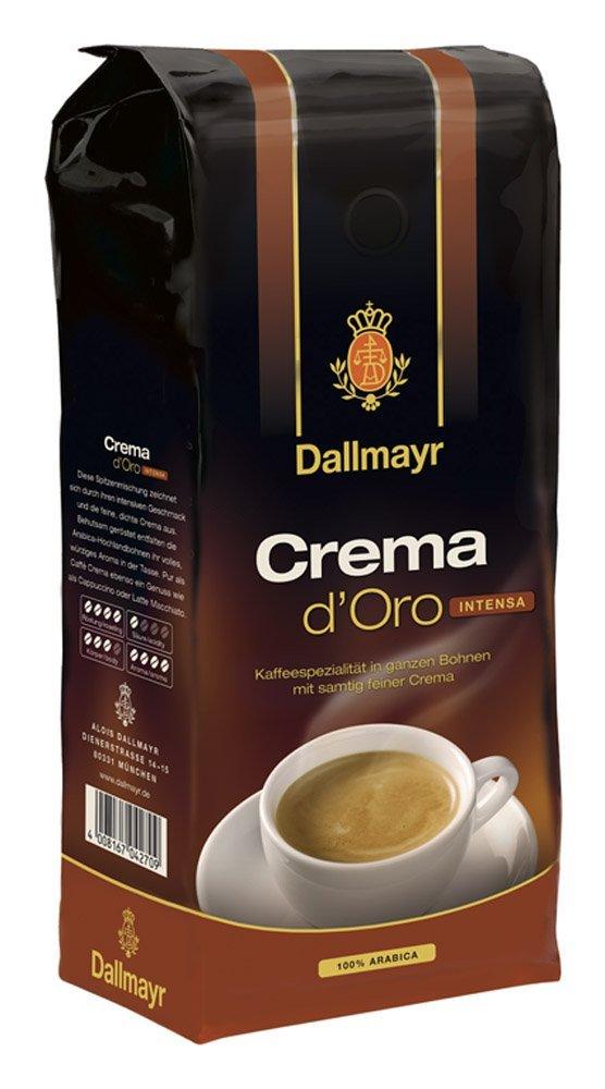 Dallmayr Crema d'Oro Intensa im Vergleich