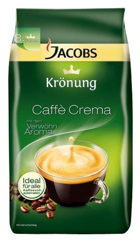 Jacobs Krönung Caffè Crema Im Test Kaffeebohnen Im Vergleichstest